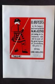 The Studio 1931 Vintage Art Deco Print. Harper's Magazine Advert by Beggarstaff